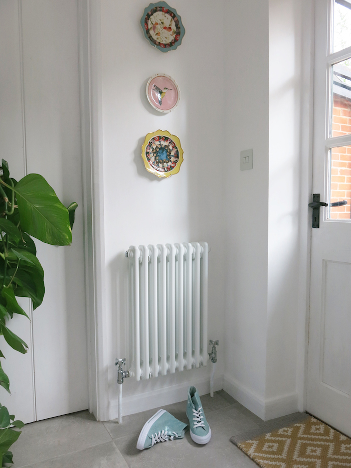 Vintager Style radiator classic panel in white