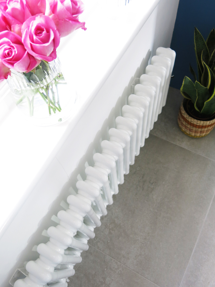 classic vintage style radiator in white advice on heating and rooms