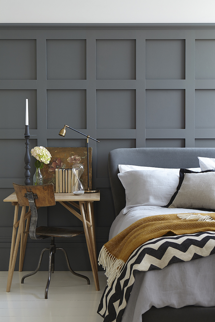 Little Greene Grey Paint Bedroom