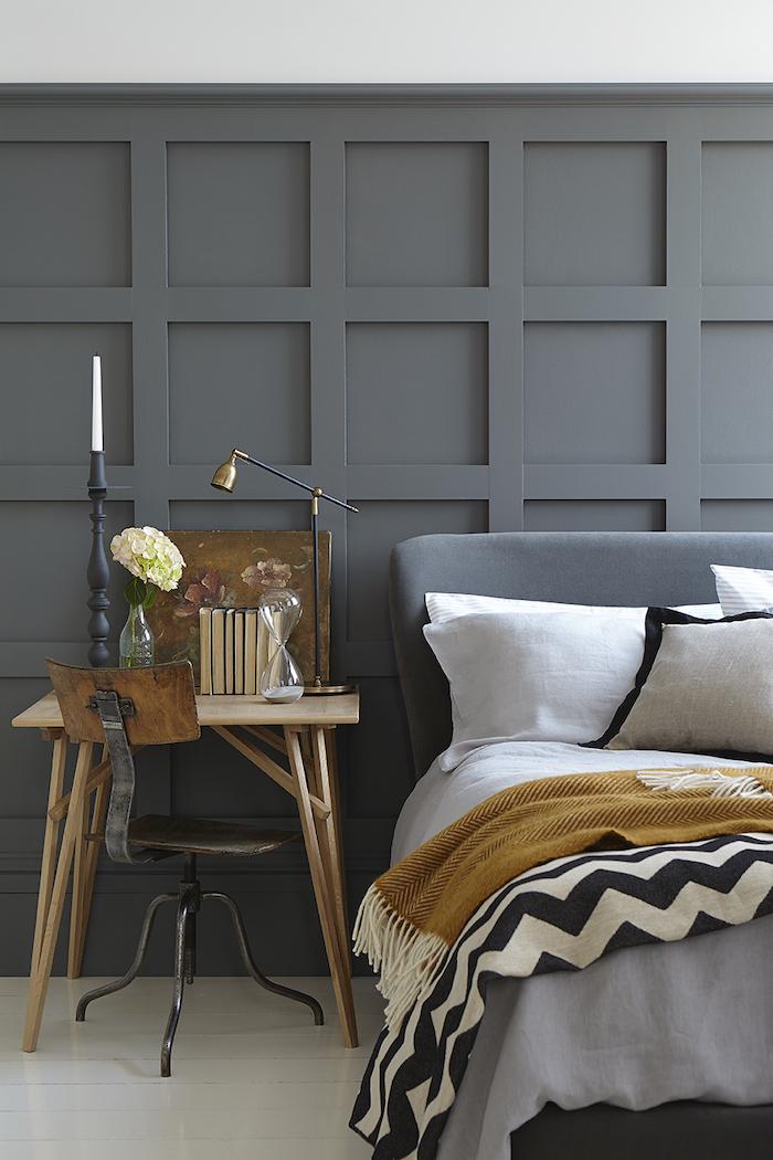Little Greene Grey Paint Bedroom