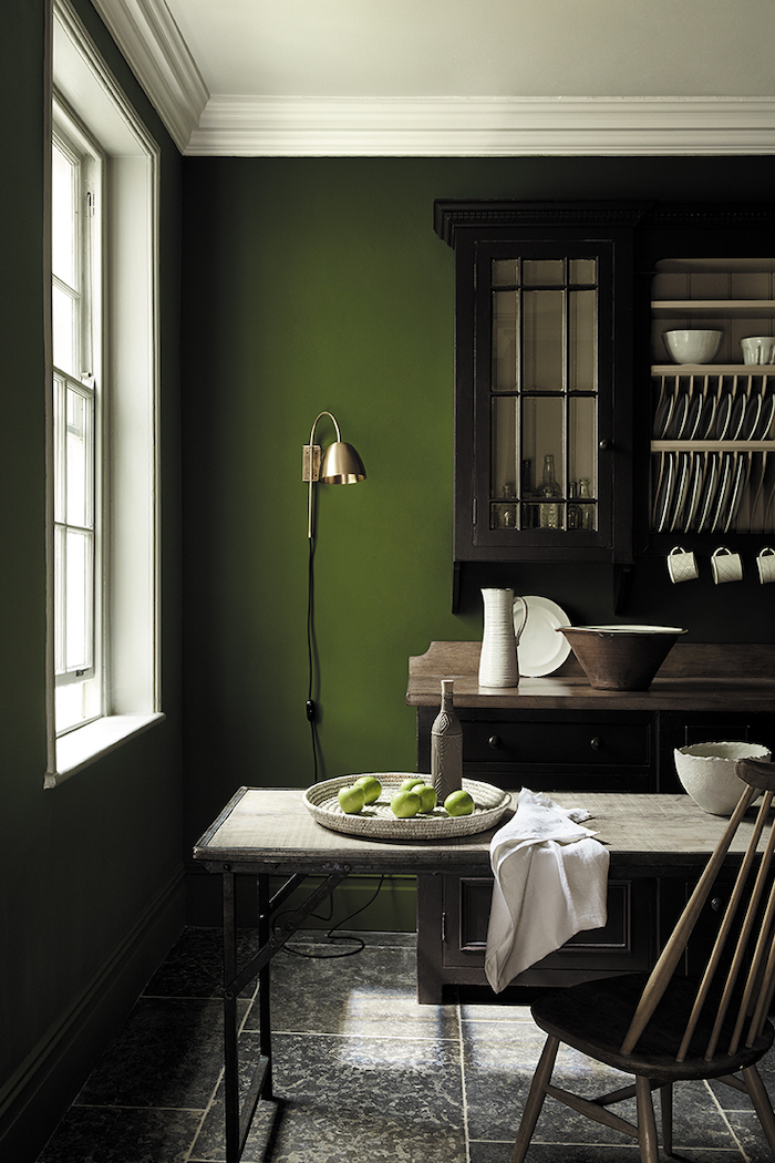 Little Greene Paint Green Home Walls