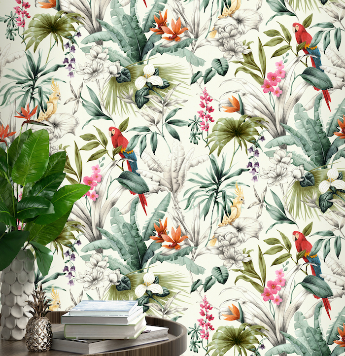 Accessorize Wallpaper Birds of Paradise