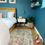 Louis De Poortere Moroccan Rug Bedroom Teal