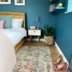 Louis De Poortere Moroccan Rug Bedroom Teal