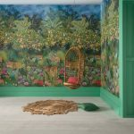 Osborne & Little Wallpaper Stunning Intense Colours Bright Happy wall