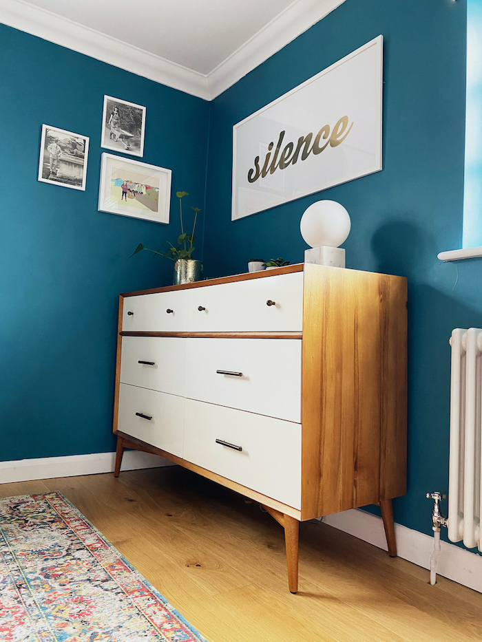 West Elm Mid Century Chest Gallery Wall of Drawers