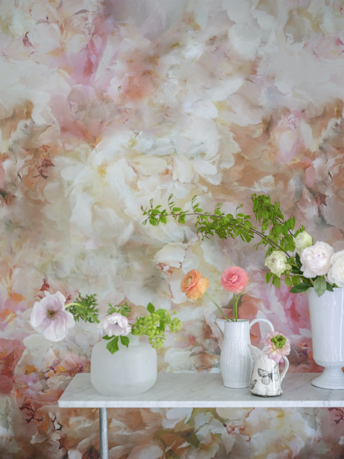 Designers Guild Floral Wallpaper Dreamy and Pink Patterns