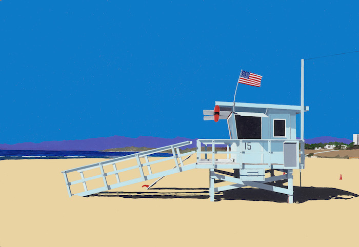 American Beach Hut Horace Panter Art