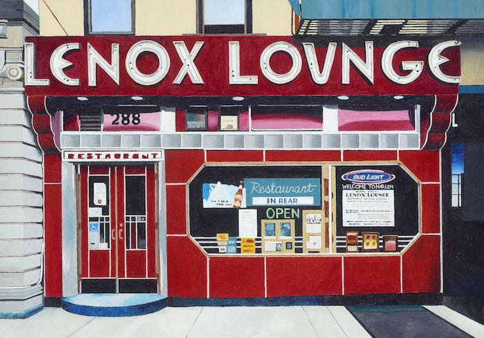 Diner USA colourful Horace Panter art