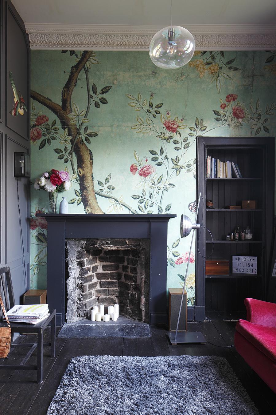 Home renovation beautiful colours