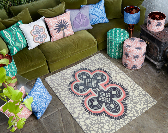 african homeware colours bright bold