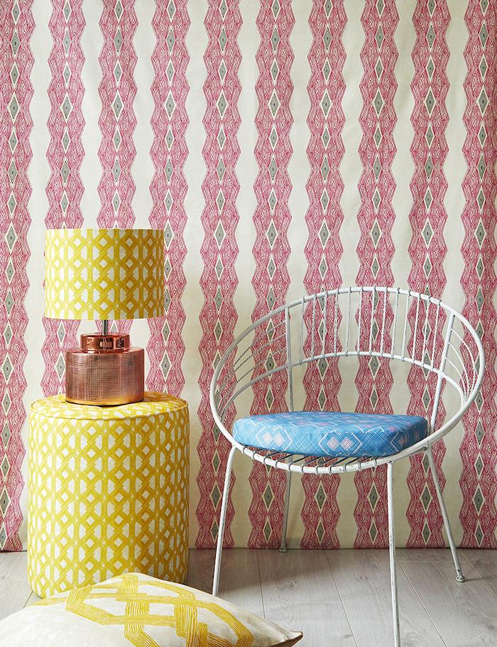 colourful prints bold