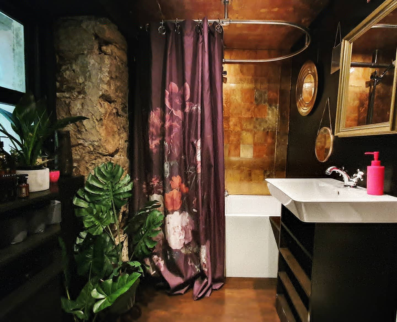 Georgian Home Bathroom beautiful colours home pretty golds