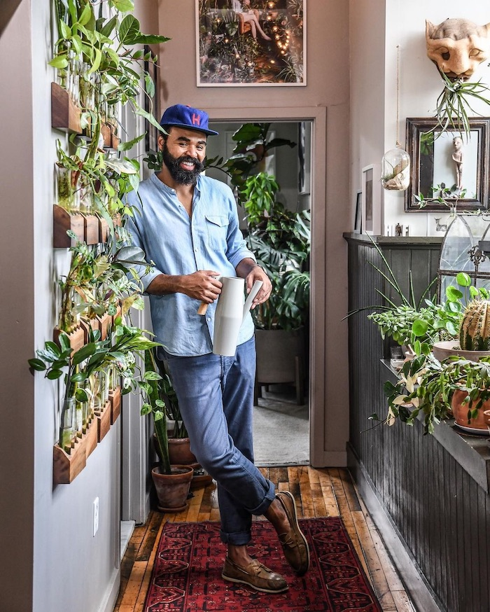 author hilton carter stylist houseplants greenery in the home