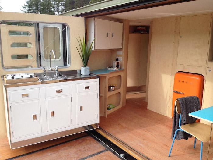 Amazing Spaces Caravan Home converted field