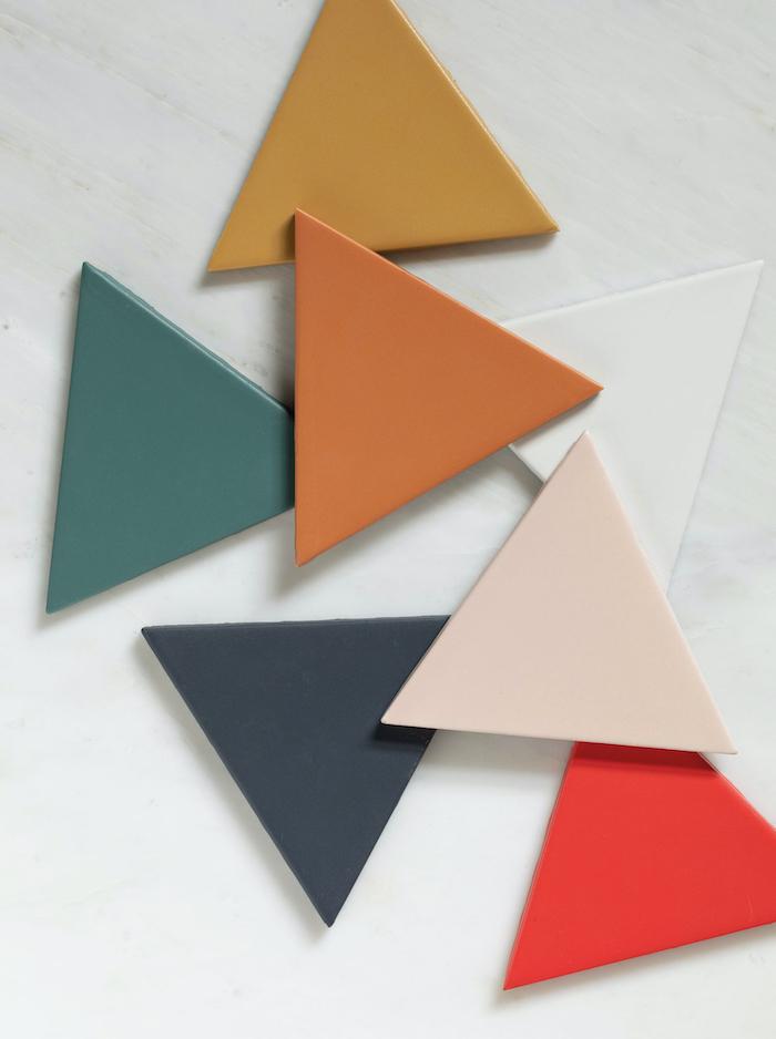 triangle bathroom kitchen tiles claybrook studio