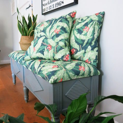 Tutorial on Upholstering a Bench or Chair Seat