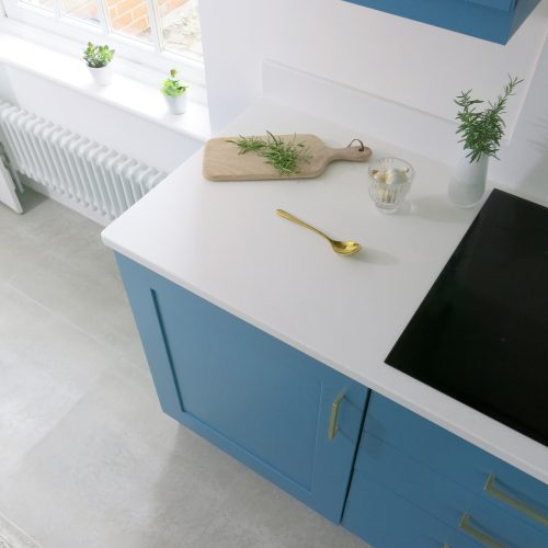 Our new Polaris Mistral Worktops from Karonia Surfaces